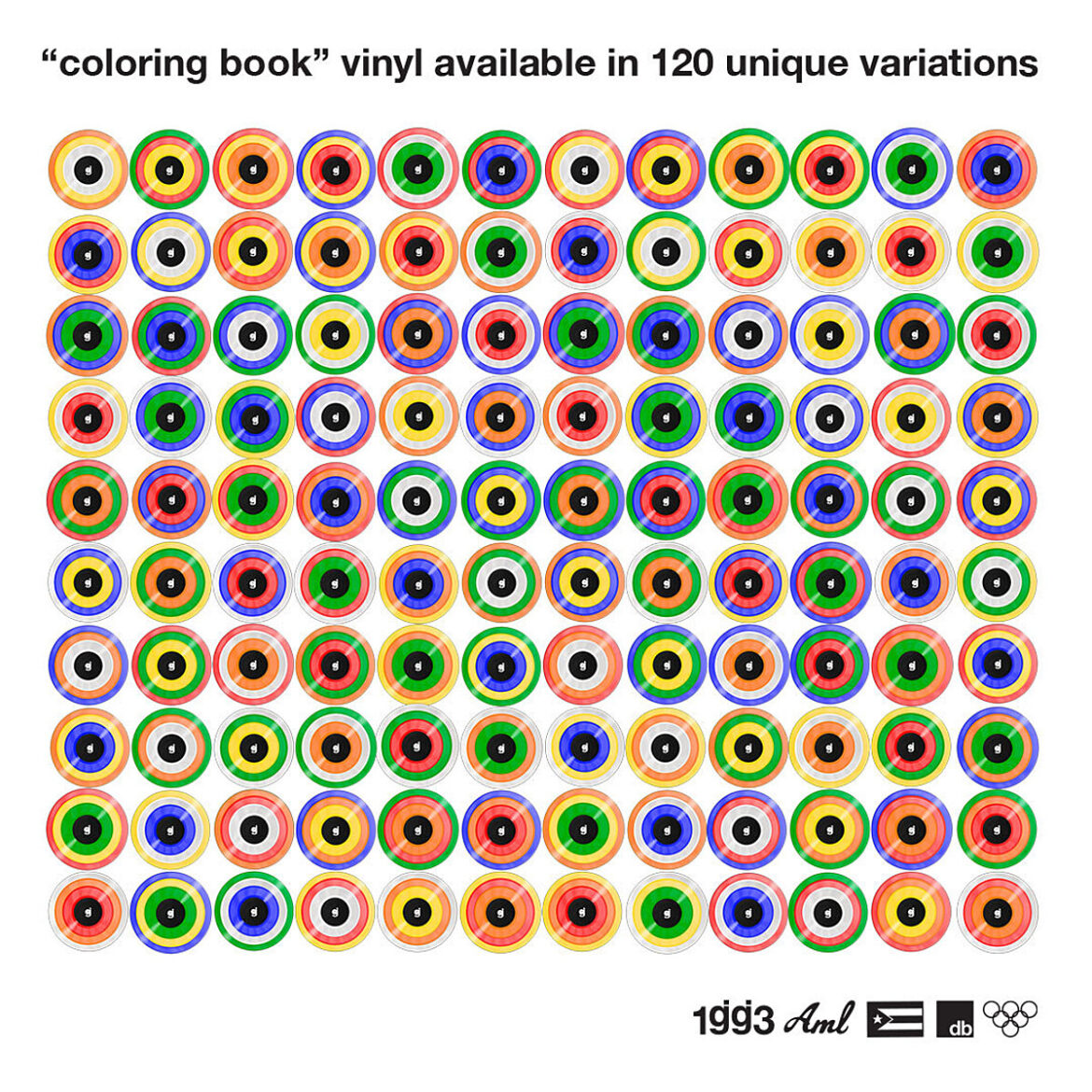 Glassjaw release 'Coloring Book' EP on 120 different limited vinyl variants (on sale now & streaming)