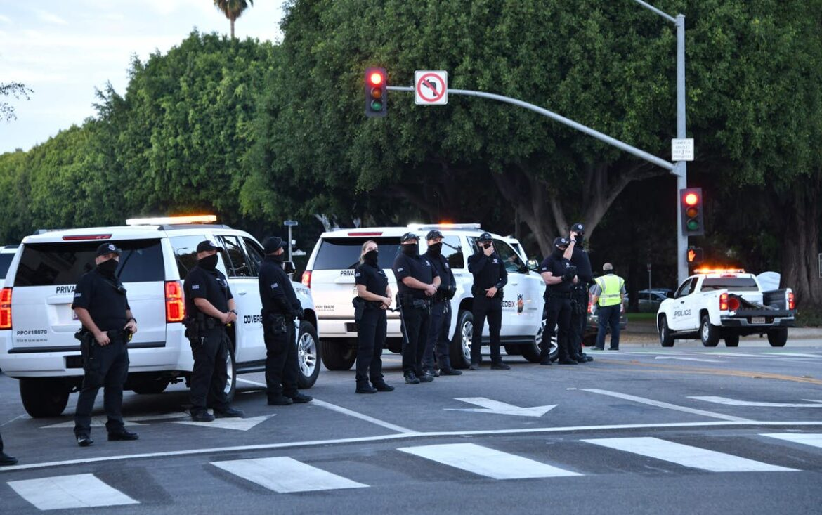 Beverly Hills police are playing Beatles songs to avoid being filmed on Instagram, activist claims