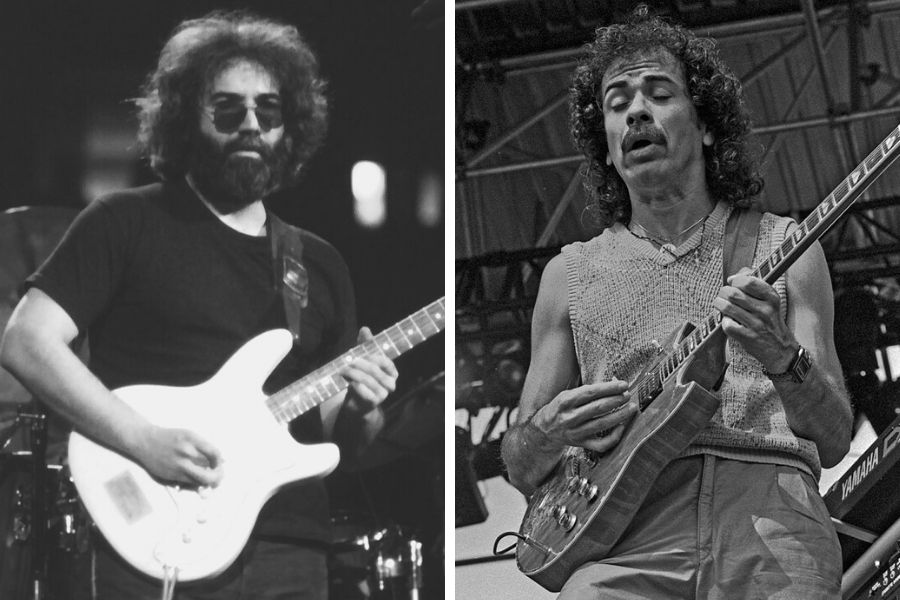 Jerry Garcia was Carlos Santana's favourite guitarist