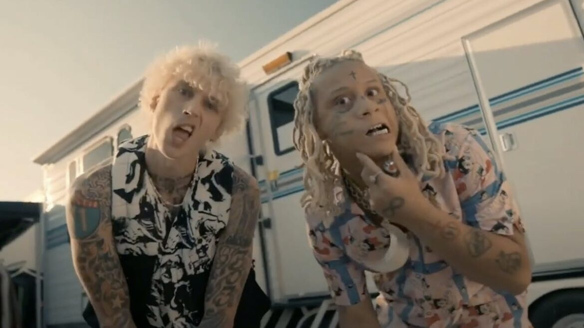 Machine Gun Kelly guests on two songs from Trippie Redd's new rock-inspired album — Kerrang!