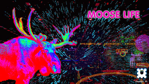 'Psychedelic trance shooter' Moose Life now available for PS4