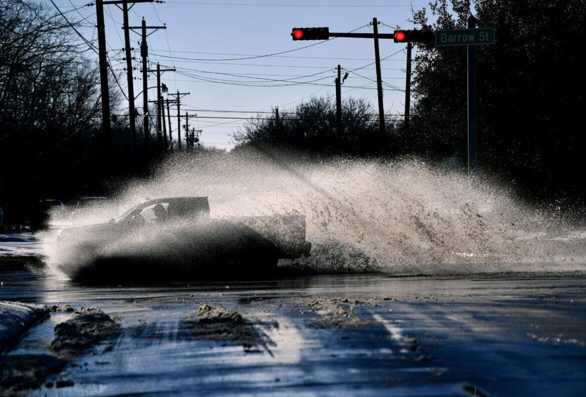 Winter storm leaves Texas counting cost of cleanup and repairs