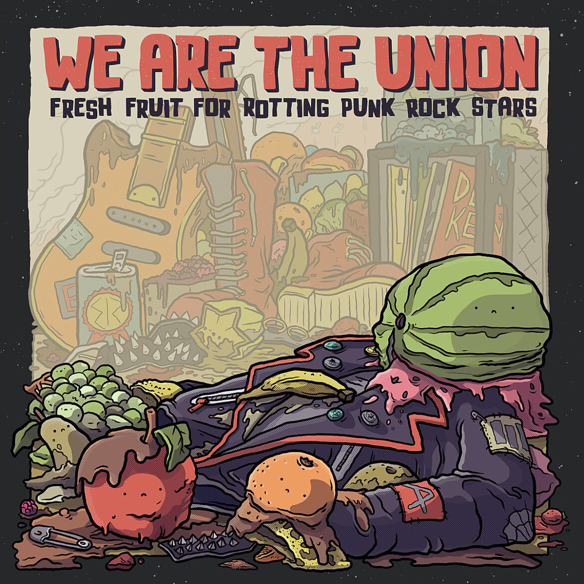 "We Are The Union's ""Fresh Fruit for Rotting Punk Rock Stars"" takes aim at aging, once-political punks"