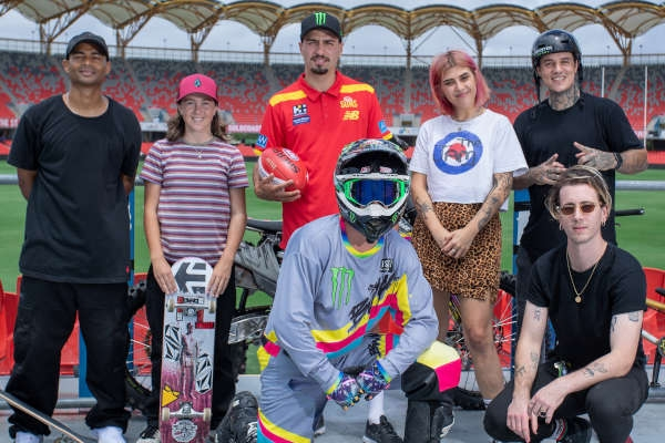 Inverted Festival To Welcome 10,000 Music & Action Sports Fans To Gold Coast's Metricon Stadium