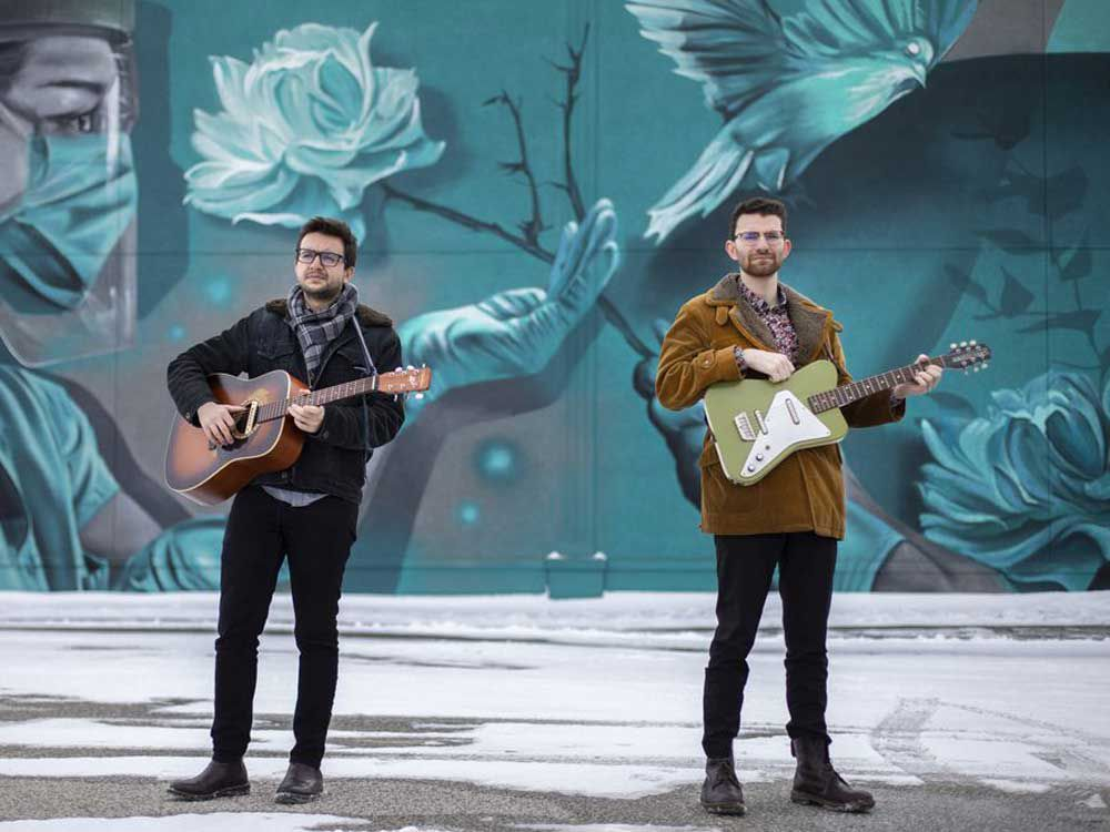 Windsor indie-rock duo's single reflects on pandemic life