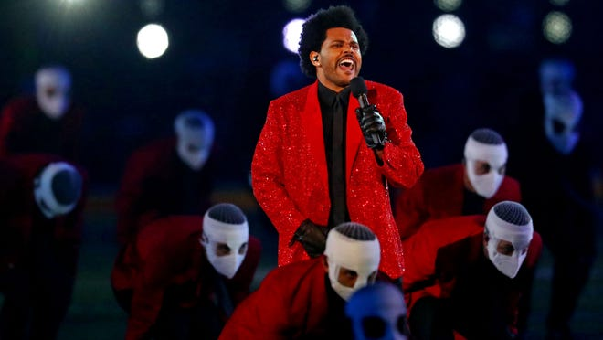 The Weeknd was charismatic if forgettable at Super Bowl halftime show