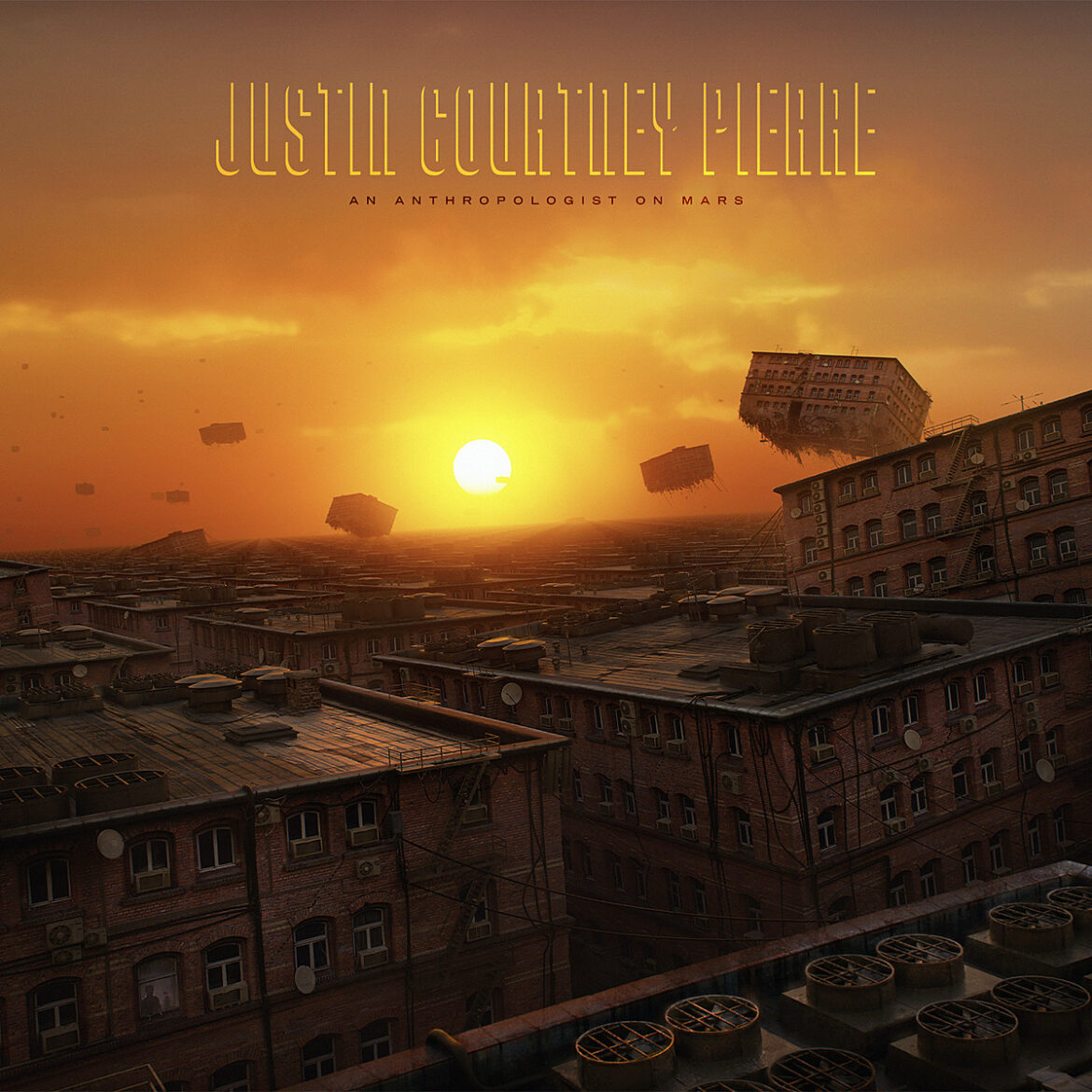 "Motion City Soundtrack's Justin Courtney Pierre releases new song ""Footsteps"""
