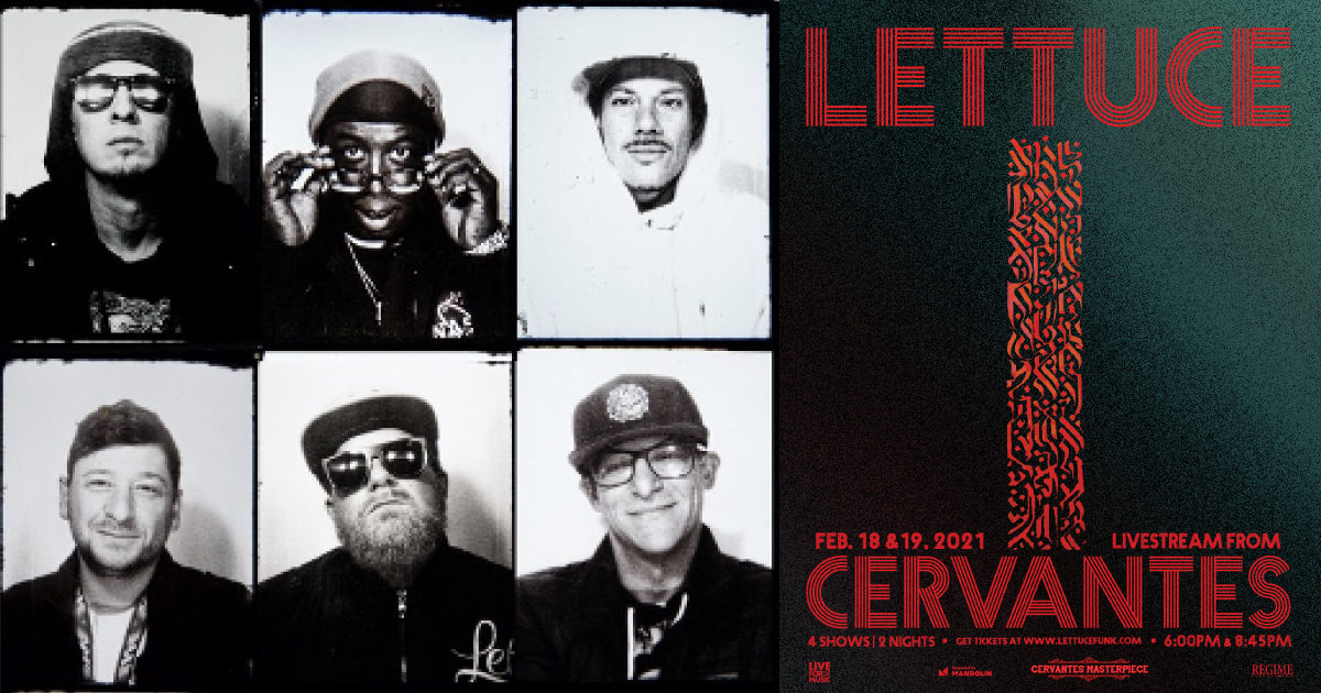 Lettuce To Reunite In Colorado For Two Nights Of Limited-Capacity Shows & Livestreams