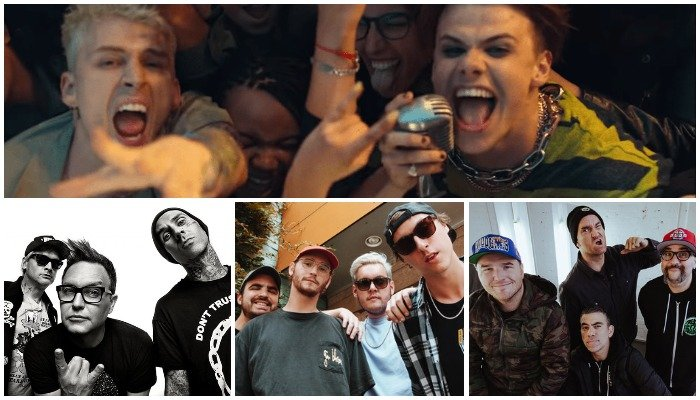 MGK & YUNGBLUD collab pop-punk cover l Alternative Press
