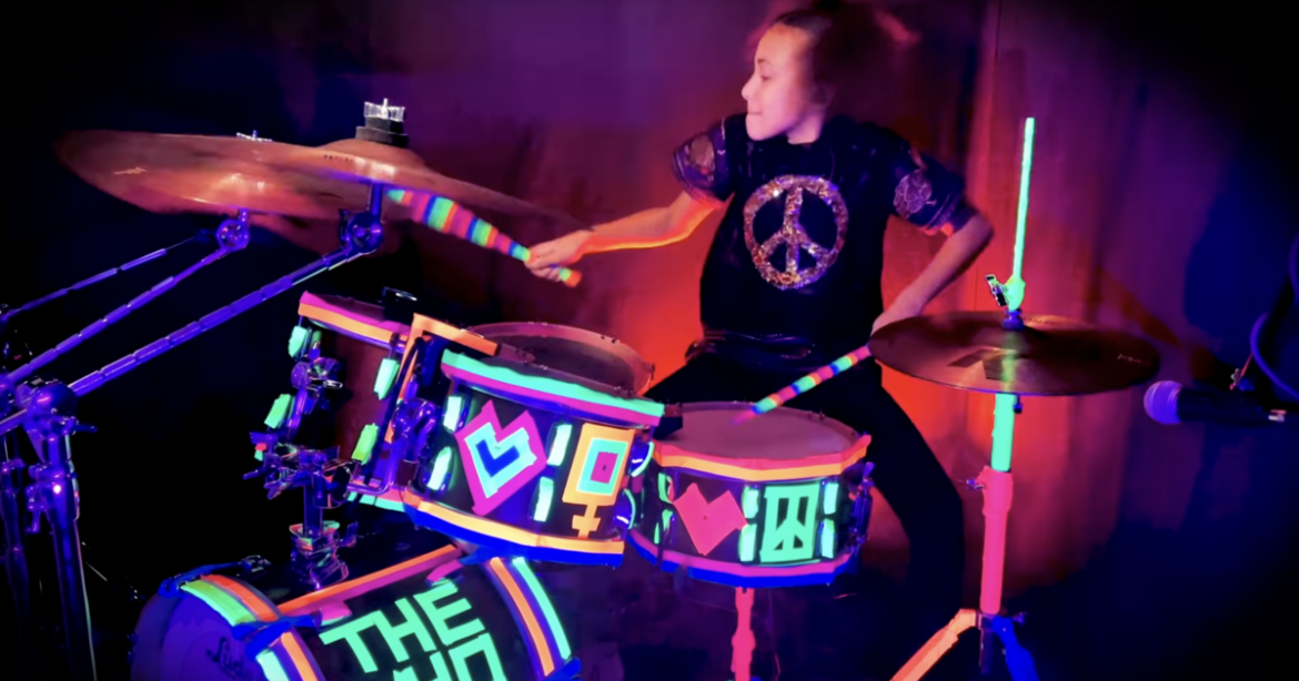 "Nandi Bushell Channels Keith Moon With Cover Of The Who's ""My Generation"" [Watch]"