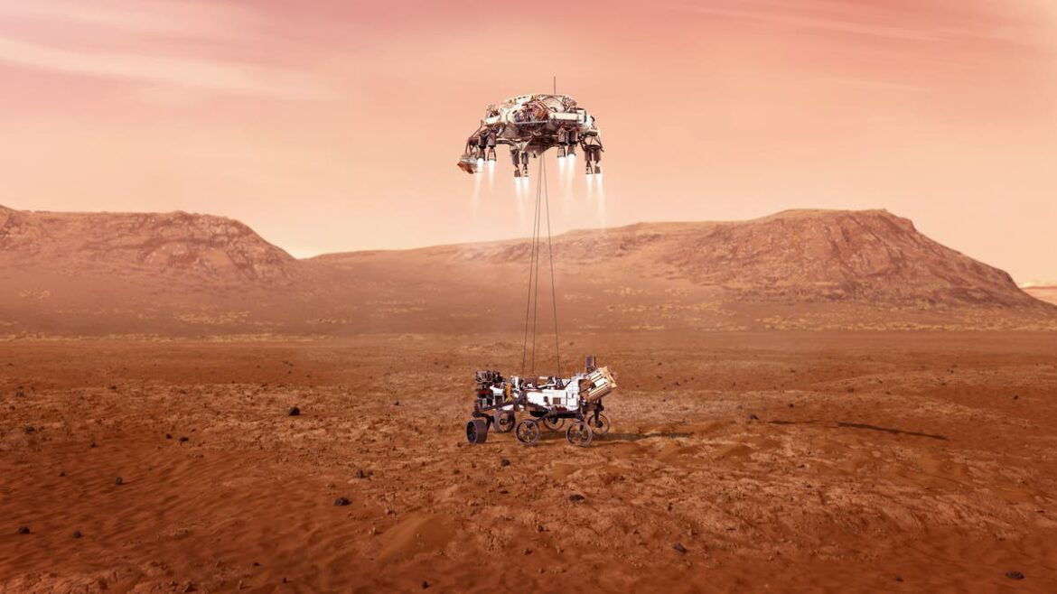 Nasa Mars rover landing live: Follow Perseverance as it lands on red planet