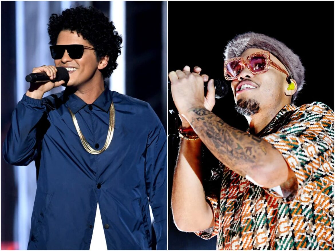 Bruno Mars and Anderson .Paak to release album as new band Silk Sonic