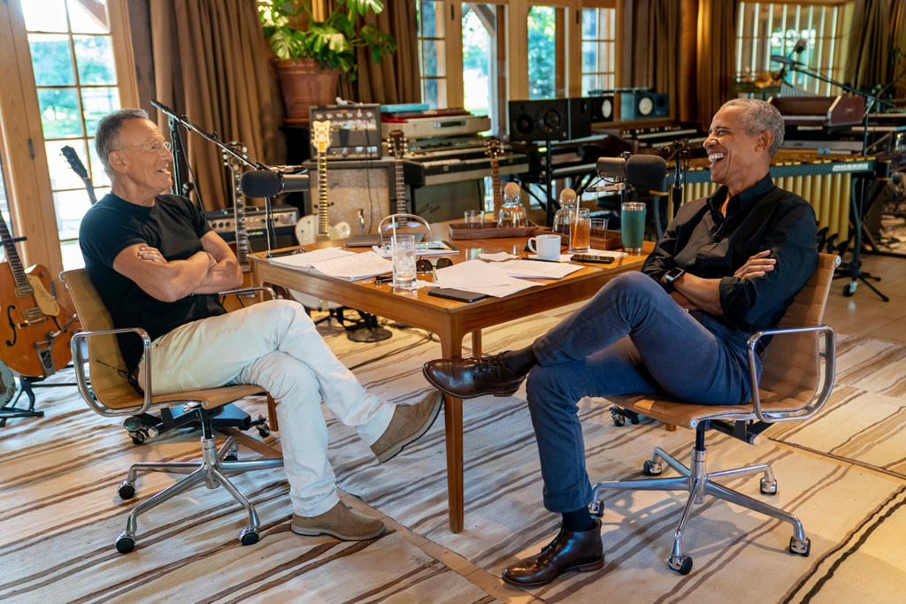 Obama, Springsteen team up to launch new podcast – Marin Independent Journal