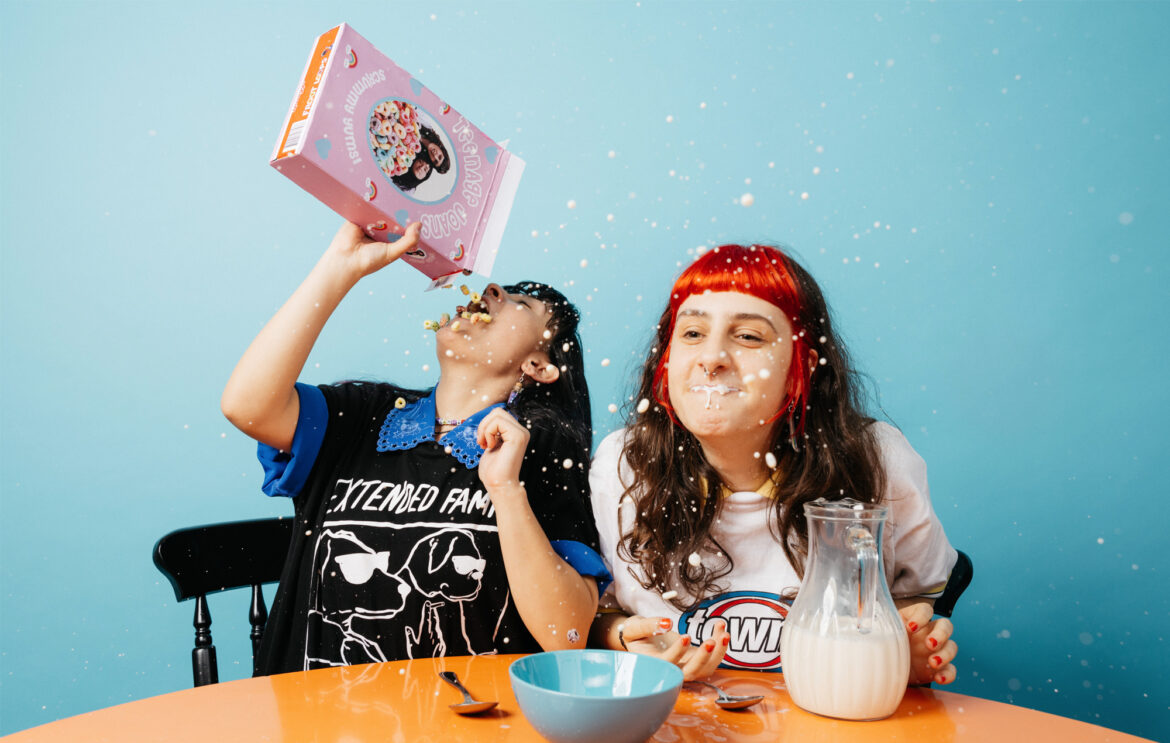 Teenage Joans: Adelaide juice-box punk-pop duo on a mission of inclusivity
