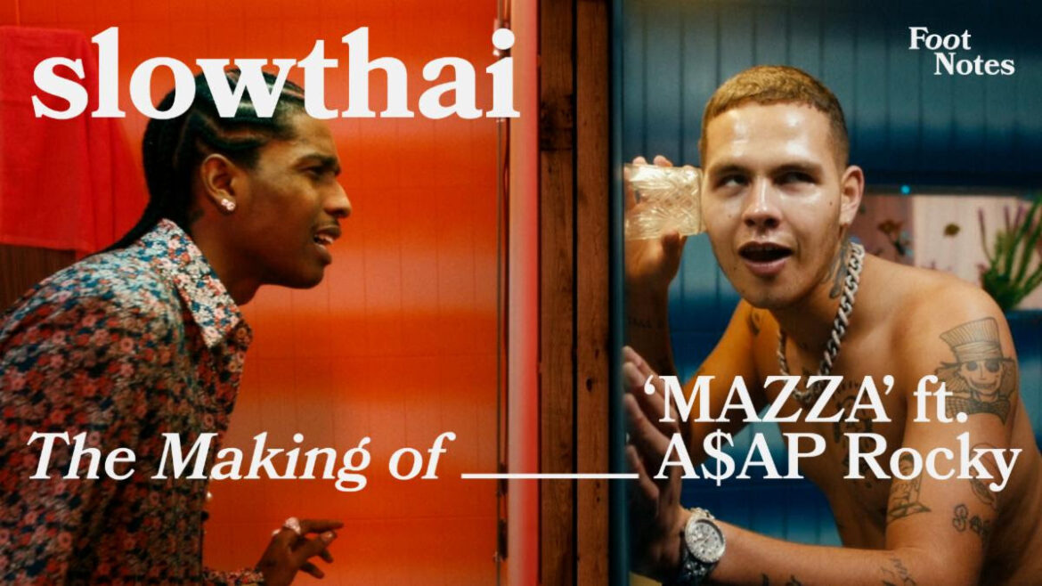 Slowthai and A$AP Rocky Deliver Behind the Scenes Vevo Footnotes Of 'MAZZA'