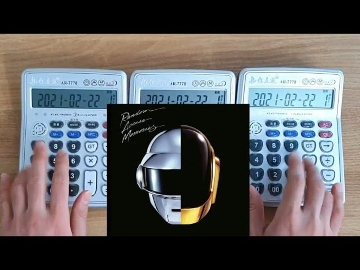 A YouTuber Performed Daft Punk's Music Live On Melodic Calculators: Watch – EDM.com