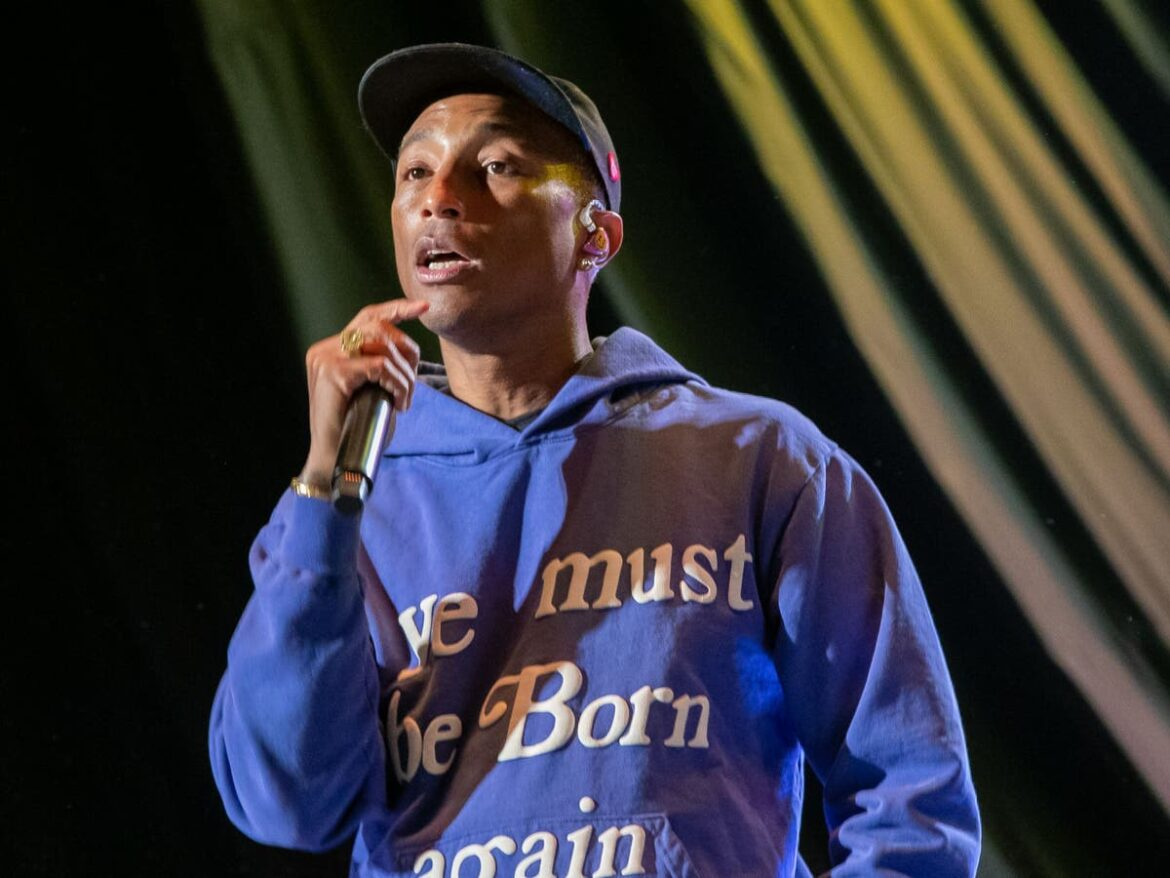 Pharrell Williams pays tribute to cousin Donovon Lynch after he was fatally shot by officer at Virginia Beach