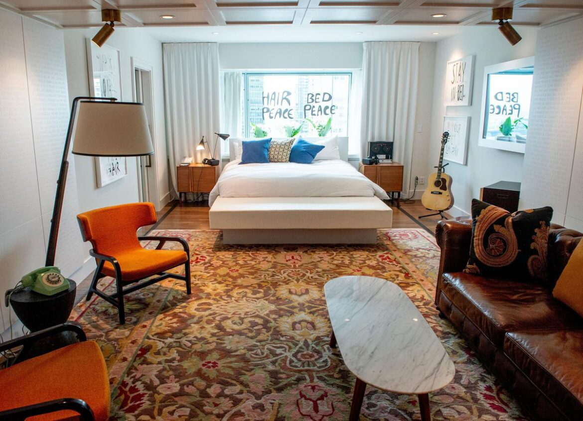 Love Music? These Music-Themed Hotel Rooms And Suites Will Rock Your World