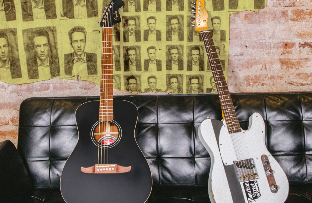 Joe Strummer Receives The Royal Treatment From Fender With Two New Guitar Models