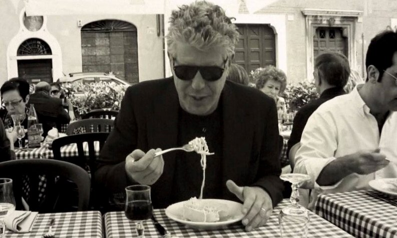 Chef Anthony Bourdain's favourite songs ever playlist