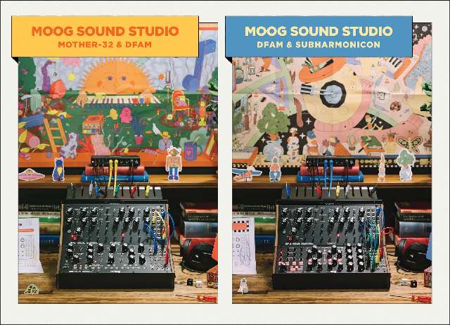 Moog Music Introduces Moog Sound Studio