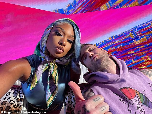 Maroon 5 takes Megan Thee Stallion for psychedelic joy ride in Beautiful Mistakes music video