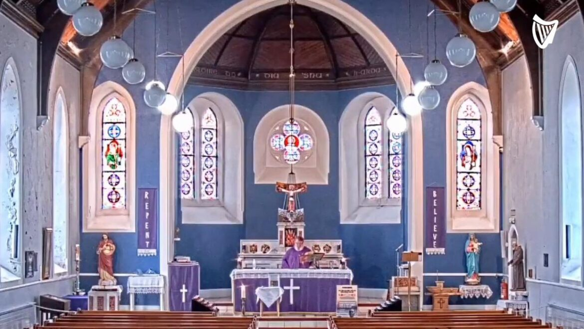 Rap music accidentally played during mass in Donegal church