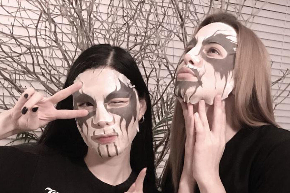 Facial Skin Care Corpse Paint Masks Are Now a Thing