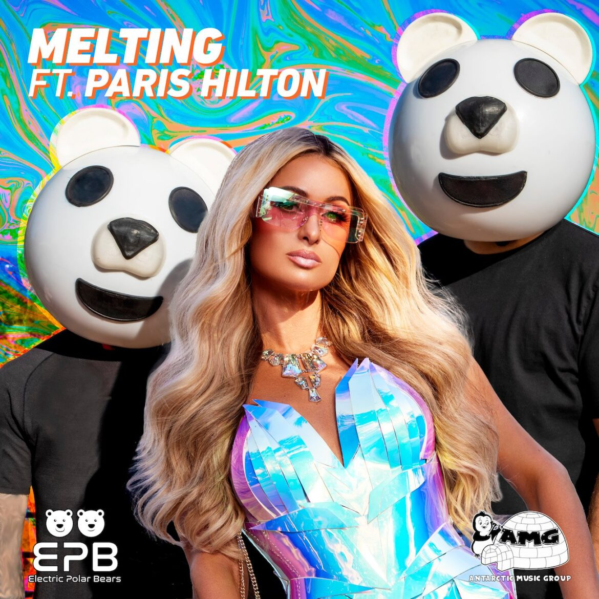 """Electric Polar Bears &Paris Hilton Drop Psychedelic Music Video for """"Melting"""" [WATCH]"""