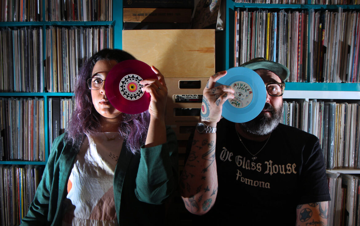 """With live shows canceled, indie booker starts 7"""" record label • the Hi-lo"""