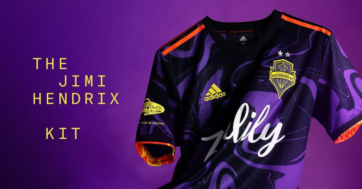 Sounders unveil psychedelic 'The Jimi Hendrix Kit'