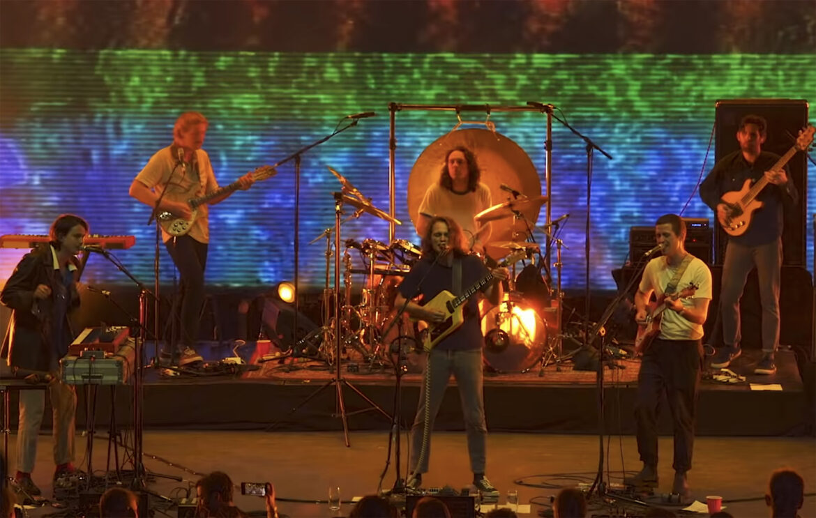 Watch King Gizzard And The Lizard Wizard's 1.5-hour Melbourne concert film