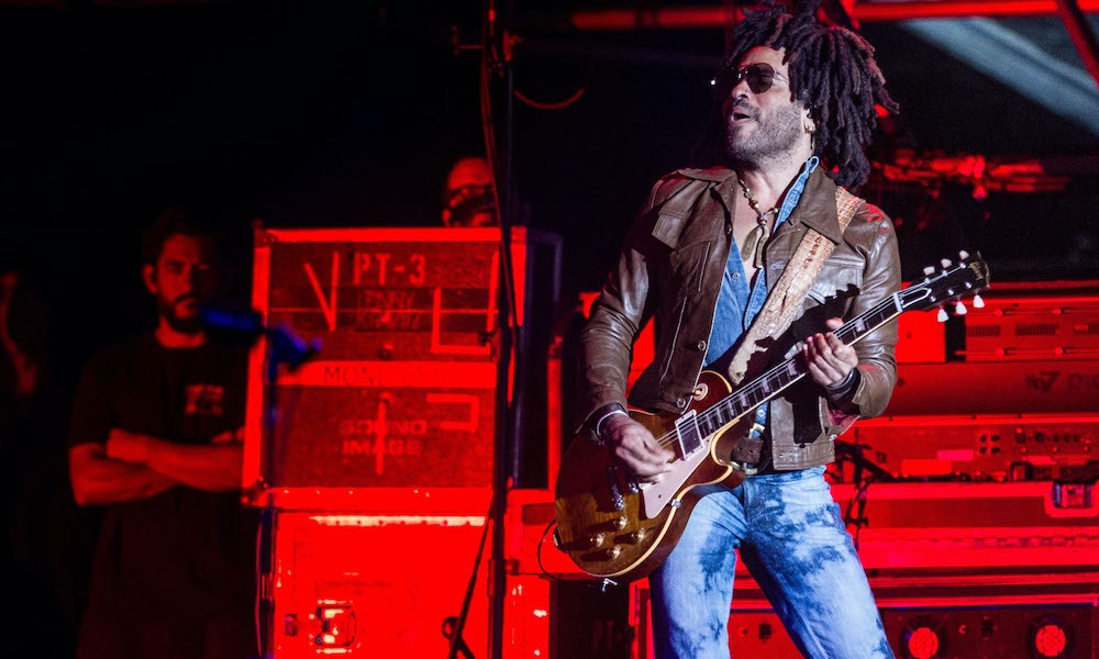 Bid On Lenny Kravitz's 'Giving Guitar' And Support Independent Venues