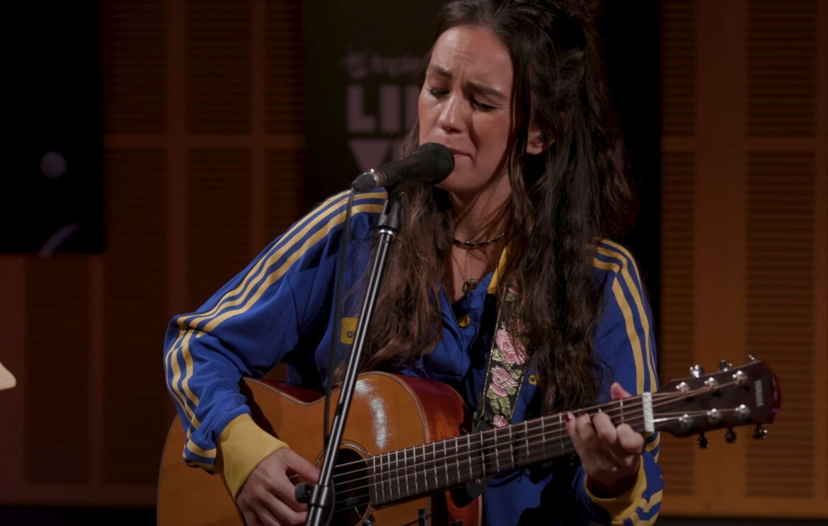 Watch Amy Shark's mellow cover of Fall Out Boy's 'Sugar, We're Goin Down'