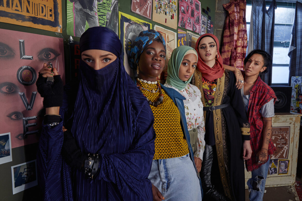 First Look Photo from Muslim Comedy with Peacock's We Are Lady Parts