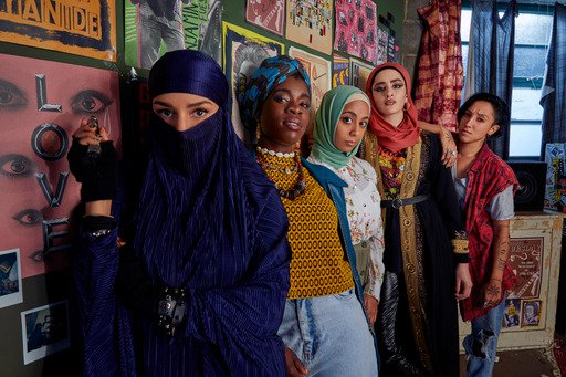 New Channel 4 comedy follows the exploits of an all-female Muslim punk band