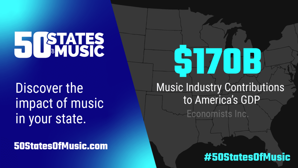 '50 States Of Music' Website Shows Economic Impact Of Music Industry