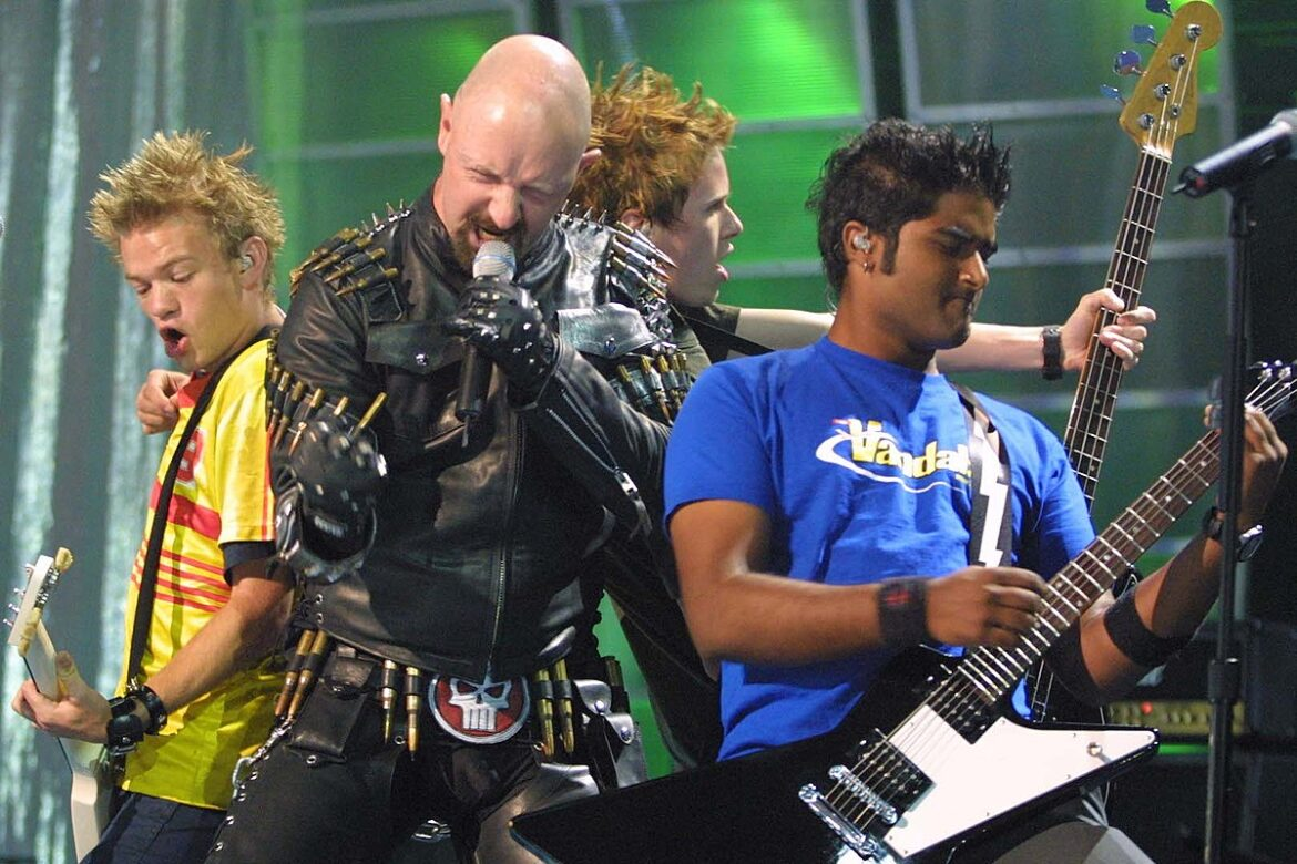 The Night Rob Halford + Tommy Lee Broke Sum 41