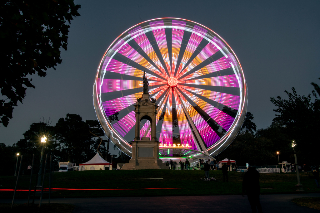 SkyStar Wheel ready to soar again in Golden Gate Park – Marin Independent Journal