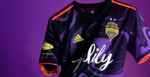 Seattle Sounders team up with Hendrix family for psychedelic kit