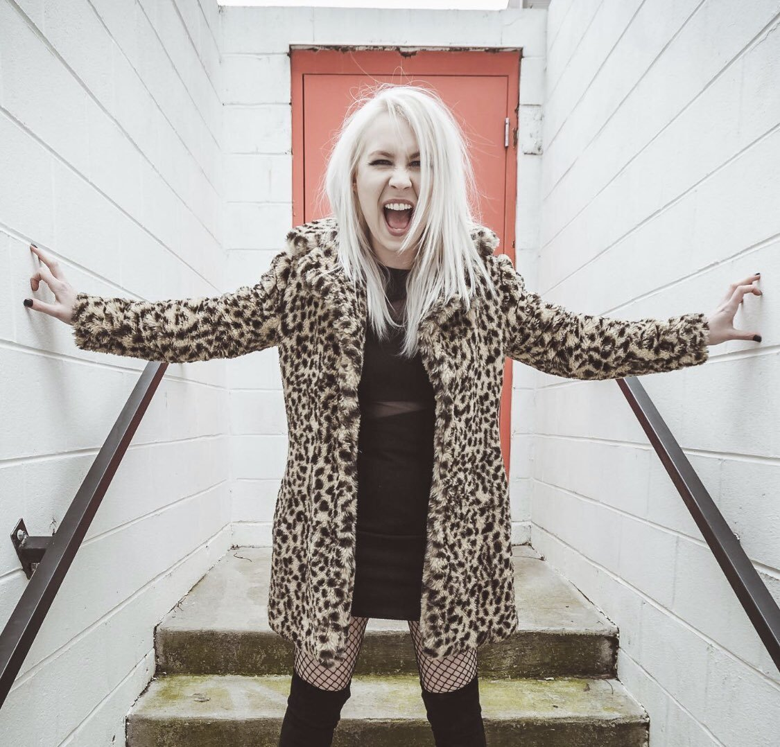 "Theresa Jeane of The Nearly Deads on new music ""Punk Rock Kitty Cat"" and ""Cold Day in Hell"""