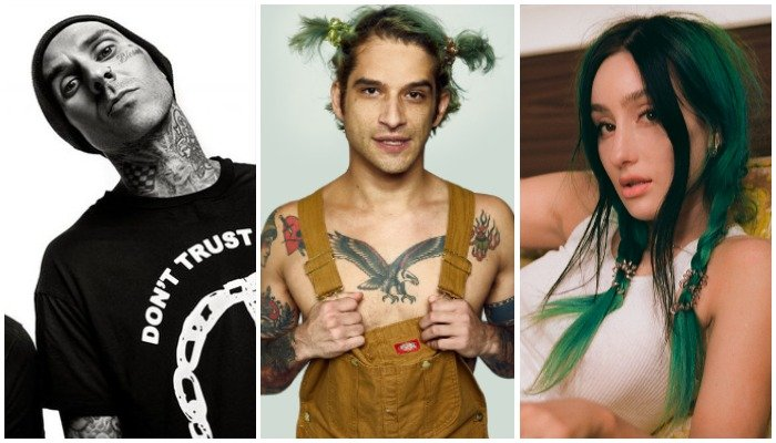 Tyler Posey new music l Travis Barker & phem collab l Alternative Press