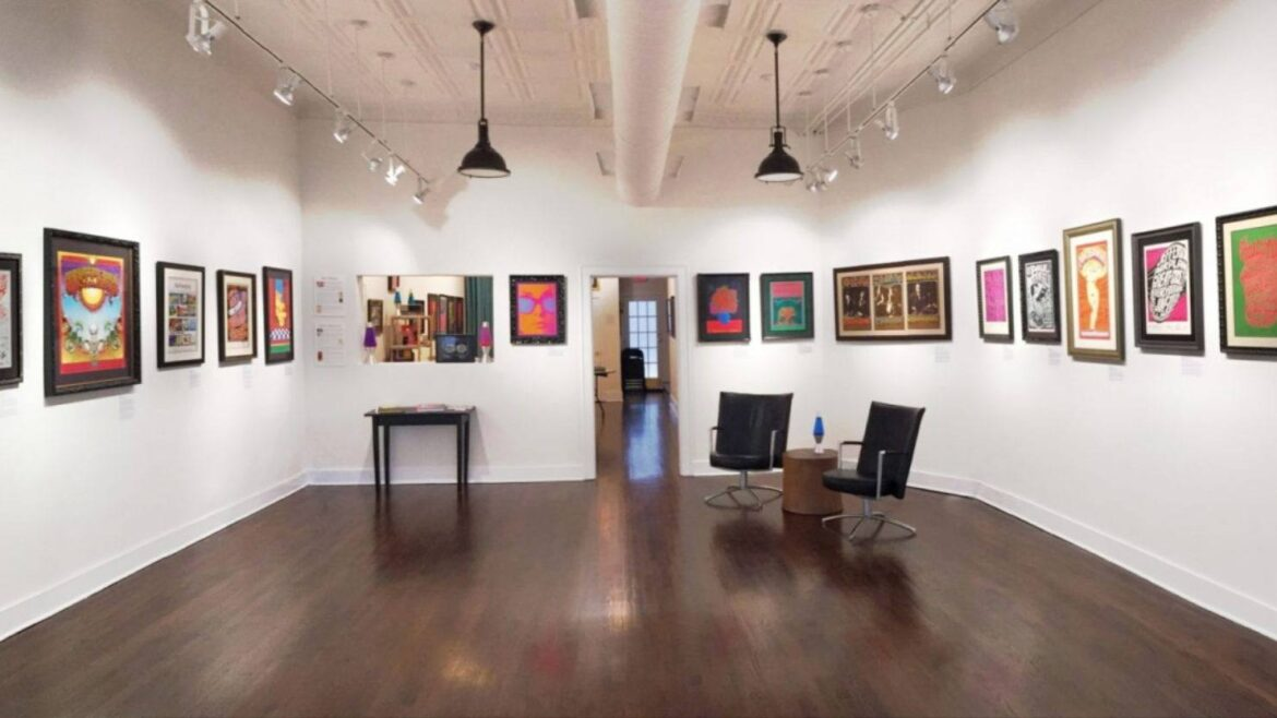 Vintage Sixties Posters Take Center Stage At Bahr Gallery
