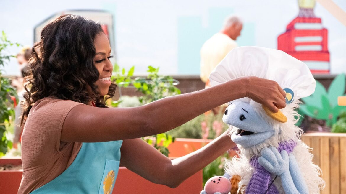 Can Michelle Obama and a Yeti Puppet Make Food Feel Punk Rock?