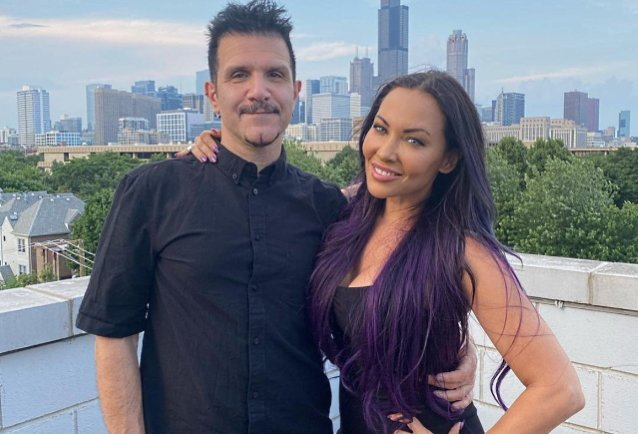 Anthrax's Charlie Benante And Butcher Babies' Carla Harvey Featured In 'Punk Rock & Paintbrushes' Art Book