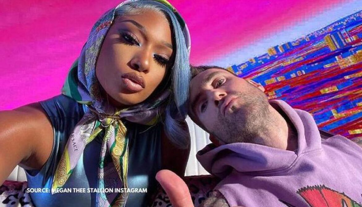 Adam & Megan Thee Stallion take a psychedelic ride