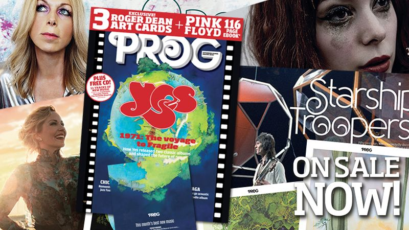 Yes: from The Yes Album to Fragile. The new gift-packed issue of Prog is on sale now!