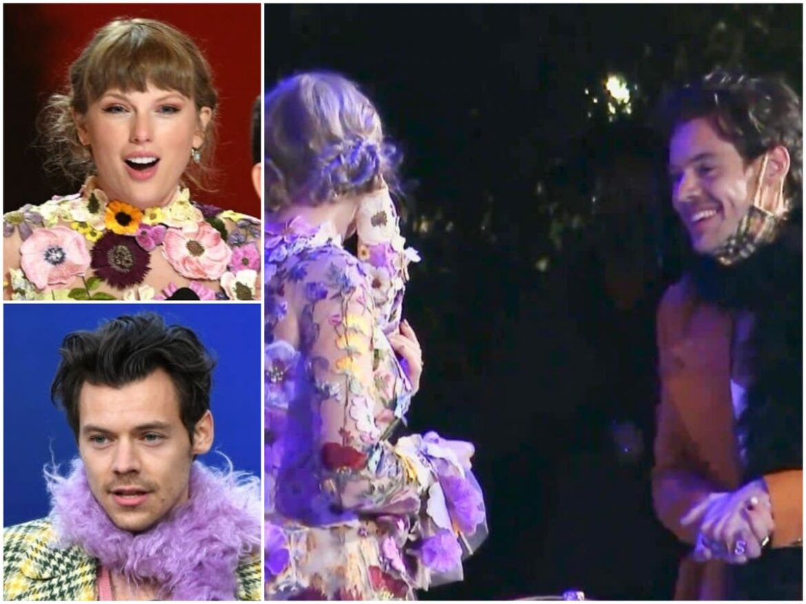 Grammys: Taylor Swift and Harry Styles reunite backstage eight years after break-up