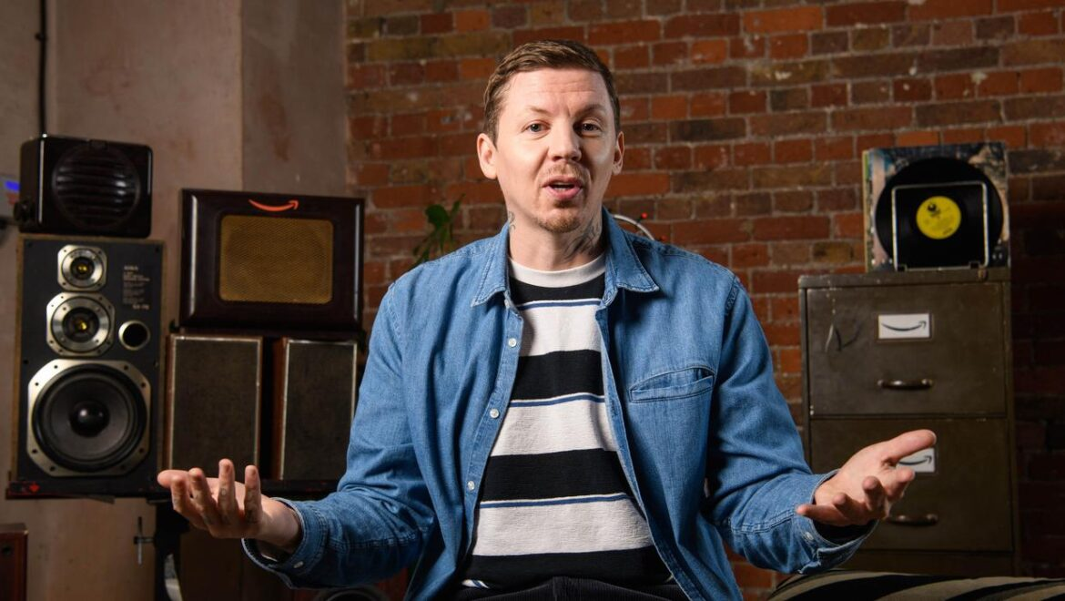 Professor Green: I've learned to love unconditionally
