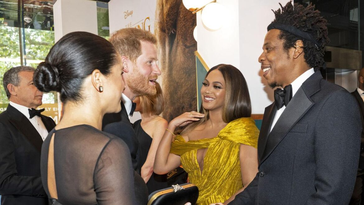 Beyonce responds to Harry and Meghan's bombshell Oprah interview
